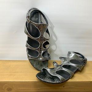 Stuart Weitzman Reflective Sandals